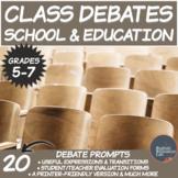 Middle School Debates- School & Education