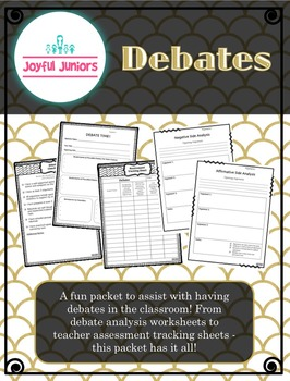 Debates - Student Organizer Packet!