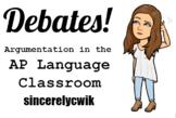 Debates in the AP Language Classroom: Full Unit
