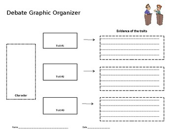 Debating Graphic Organizer