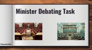 Debating Task - Ministers