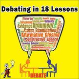 DEBATE UNIT IN 18 LESSONS
