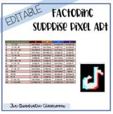 Debbie's Math Designs - Factoring Polynomials Surprise Pixel Art (Tik Tok)