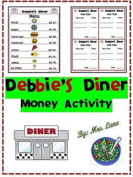 Debbie's Diner Money Activity