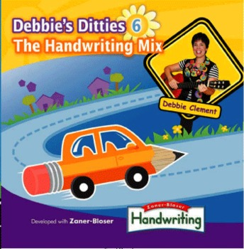 Debbie's Ditties 6: The Handwriting Mix (CD:12 Songs to Support Fine Motor)