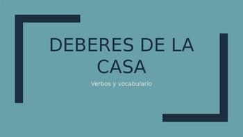 Deberes de la casa - Clase de español