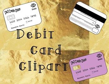 Debit Card/ Bank card clip art