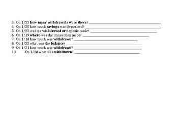 Debit Card Math- Full lesson