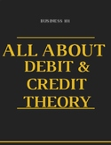 Business/ Accounting: Debit and Credit Theory Handout