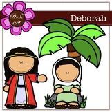 Deborah Digital Clipart (color and black&white)