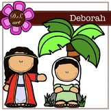 Deborah Digital Clipart (color and black&white)