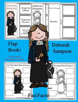 Deborah Sampson Writing
