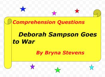 Deborah Sampson Goes to War