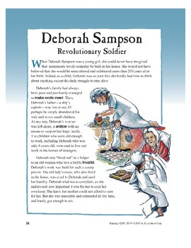 Deborah Sampson, Revolutionary Soldier