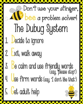 Debug System - Classroom poster!