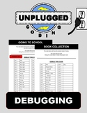 Debugging (Unplugged Coding #6)
