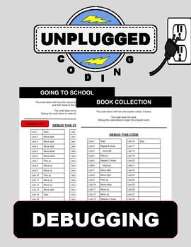Debugging (Unplugged Coding #6)