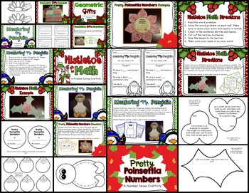 Dec.- Feb. Differentiated Math Centers (Year Full of Math Centers: Vol 2)