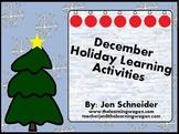 Dec Holiday ActivInspire Activities