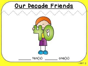 Decade Numbers-Teacher Slides (First Grade, 1.NBT.2)
