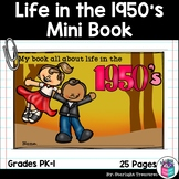 Decades: Life in the 1950s Mini Book for Early Readers