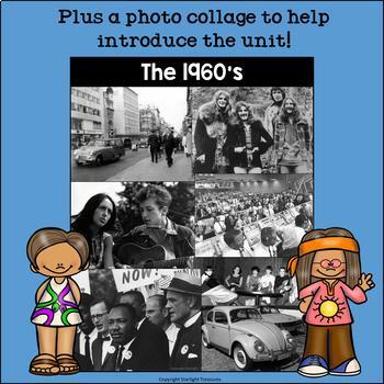 Decades: Life in the 1960s Mini Book for Early Readers