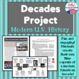 Decades Project- U.S. History