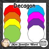 Decagon Clipart