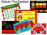 December 1st Grade Calendar for ActivBoard