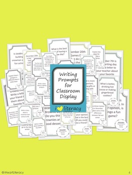 Writing Prompts December 1st Grade Common Core By Iheartliteracy