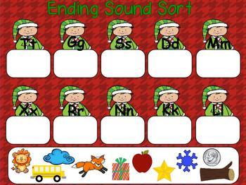 December Kindergarten ActivInspire Calendar