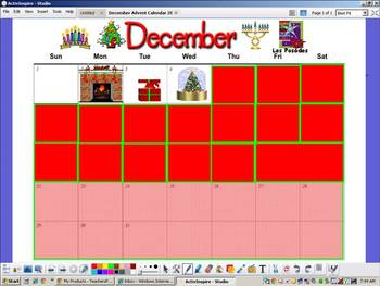 December 2013 Advent Calendar - ActiveInspire Promethean F