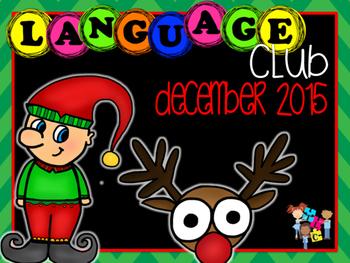 December 2015 Language Club