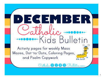 December 2016 Catholic Kids Bulletin