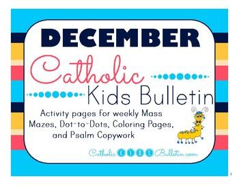 December 2017 Catholic Kids Bulletin