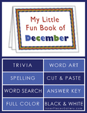My Little Fun Book of December Helps Reinforce the Months of the Year