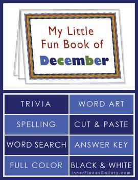 My Little Fun Book of December Helps Reinforce the Months