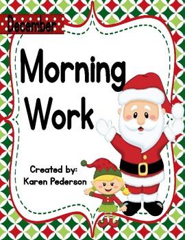 December 2nd Grade Morning Work No Prep