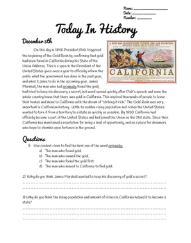 December 5th Today In History