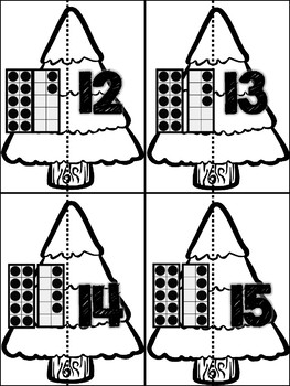 December! 7 Math Centers for Counting & Cardinality! Count & Recognize Numbers!