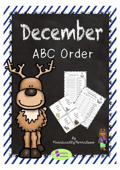 December - ABC Order