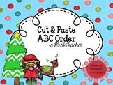 December ABC Order Cut and Paste  **Christmas, Hanukkah, Kwanza**