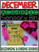 December Academic Sensory Bin