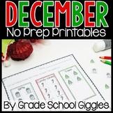 December Activities Kindergarten