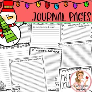 December Winter Holiday NO PREP Activities Packet K-2nd Grades