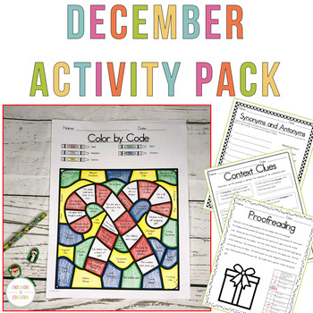 December Activities Packet