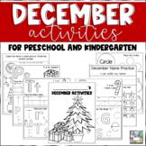 December Activities for Preschool and Kindergarten