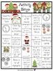 December Activity Bingo