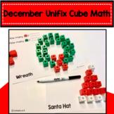December Activity Unifix Cube Math