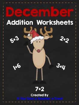 December Addition Practice